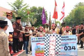 Wali Kota lepas peserta Karnaval Hari Pahlawan