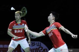 BWF Finals 2019: Kevin/Marcus telan kekalahan dari Endo/Watanabe