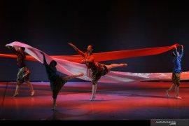 Pertunjukan tari balet Marlupi Dance Academy