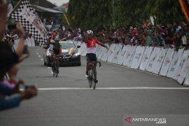 Pebalap tercepat etape VIII Tour De Singkarak