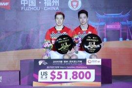 Juara China Open empat kali beruntun, Marcus/Kevin merasa luar biasa
