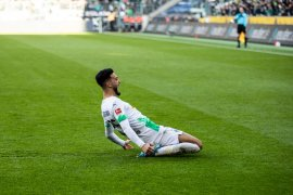 Gladbach kembali ke puncak klasemen Liga Jerman setelah tundukkan Bremen