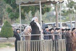 Bupati Muarojambi pimpin upacara Hari Pahlawan di Bukit Cinto Kenang