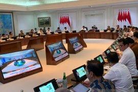 Presiden Jokowi paparkan sejumlah upaya tekan defisit perdagangan