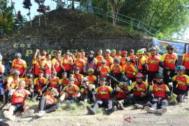Kasdam IM Aceh Brigjen Achmad Daniel ikut meriahkan road bike Tour De Gayo