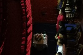 Jokowi hadiri puncak HUT Partai NasDem disambut Surya Paloh