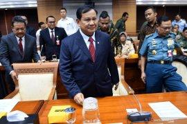 Prabowo: Indonesia selalu jadi incaran bangsa lain, harus miliki pertahanan memadai