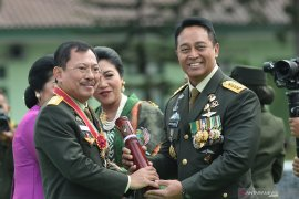 KSAD lepas 172 perwira tinggi TNI-AD purnatugas