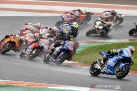 Menuju pemberhentian terakhir balapan MotoGP di Valencia