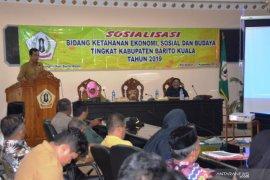 Pemkab sosialisasi bidang ketahanan Ekososbud