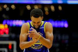 Pebasket Stephen Curry tak mau berlama-lama absen