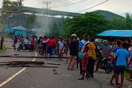 Oknum Perwira Polisi serahkan diri ke Propam usai tabrak warga di Manokwari