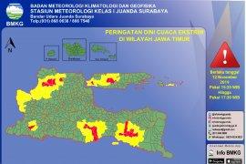 BMKG Juanda mengingatkan wilayah Ngawi berpotensi angin kencang