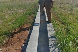 Mukomuko bangun dua embung untuk pengairan sawah