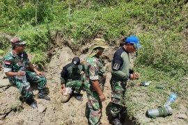 Lanud Silas Papare musnahkan lima bom dan amunisi sisa PD II