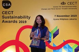 "Coca-Cola Amatil Indonesia raih ""CECT Sustainability Awards 2019"""