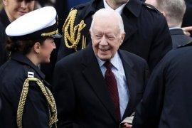 Mantan Presiden Amerika Serikat Jimmy Carter masuk rumah sakit