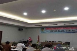 DPMD Bekasi gelar seminar peningkatan kapasitas usaha ekonomi kepada kepala desa