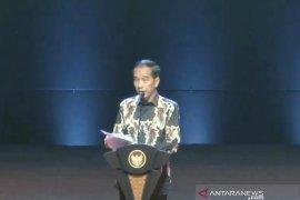 Hadiri Rakornas Forkopimda, Jokowi bersyukur pertumbuhan ekonomi terjaga