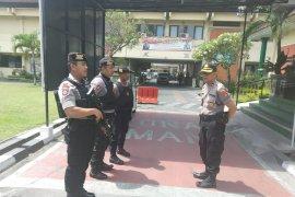 Pasca kejadian bom bunuh diri Medan, Jajaran Polres perketat keamanan