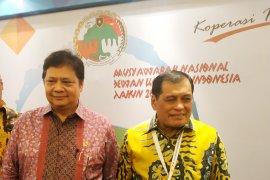 Nurdin Halid isyaratkan Airlangga bisa terpilih aklamasi Munas Golkar