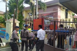 Pascaledakan bom bunuh diri, Mako Polrestabes Medan dijaga  ketat