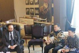 Pimpinan MPR bertemu Surya Paloh