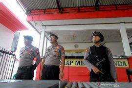Pengamanan di Polda Gorontalo ditingkatkan pascaledakan bom Medan