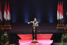 Presiden Jokowi dijadwalkan menyerahkan DIPA 2020 di istana