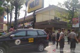 Ada 6 orang korban luka akibat bom bunuh diri Medan