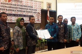 Bawaslu Bangka Tengah gelar rapat koordinasi songsong Pilkada 2020