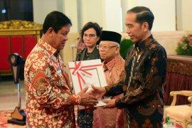 Presiden Jokowi serahkan DIPA Kepri tahun 2020 sebesar Rp8.617 triliun