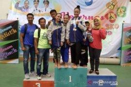 Atlet PPLP/PPLPD Babel raih empat medali di Kerjunas senam Jawa Barat