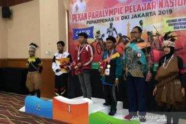 Dua atlet pelajar difabel raih juara tiga di Peparpenas IX