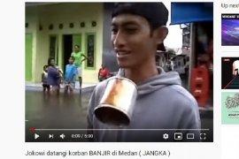 Terduga bom bunuh diri Medan buat konten parodi banjir di Youtube