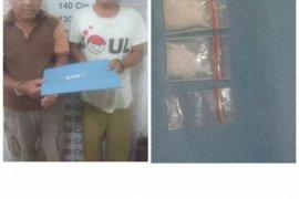 Polisi Kuala Langkat ringkus dua pemilik sabu-sabu