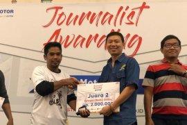 Jurnalis Antara Kalbar raih juara 2 Journalist Competition Astra Motor Kalbar