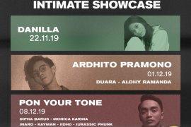 KiosMusic hadirkan Danilla, Ardhito Pramono, dan Dipha Barus