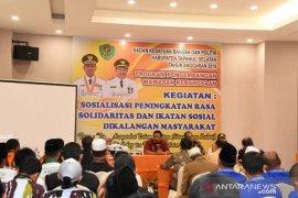 Pemkab Tapsel sosialisasi ikatan sosial kalangan masyarakat