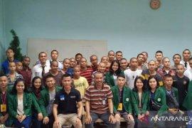 STM Immanuel Polbangtan Medan kunjungi Lapas Anak Tanjung Gusta