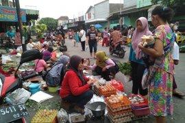 Membengkak, kerugian pedagang korban kebakaran Pasar Ngunut Tulungagung