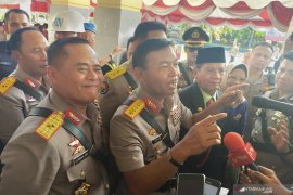Polri tangkap 19 terduga teroris pascabom bunuh diri di Medan