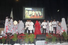 Qasidah Az Zahra. meriahkan pembukaan Pesparani I Katolik Papua