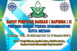 17 November, Pemuda Muhammadiyah Medan gelar Rapimda