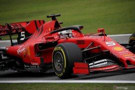 Duo Ferrari tercepat FP2 Grand Prix Brazil