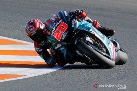 Fabio Quartararo start terdepan di GP Valencia