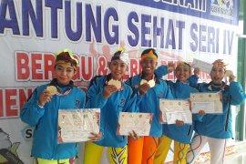 YJI Jawa Timur Borong Emas Senam Jantung Sehat FORNAS V
