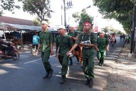 Ribuan peserta napak tilas Jenderal Soedirman di Kediri-Bajulan