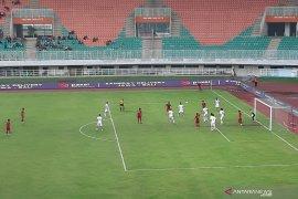 Timnas U-23 Indonesia imbang 1-1  dengan Iran babak pertama