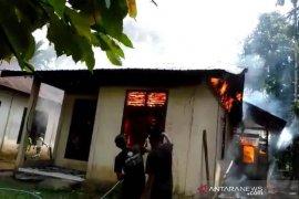 Ditinggal ke kebun, rumah petani di Aceh Jaya ludes terbakar